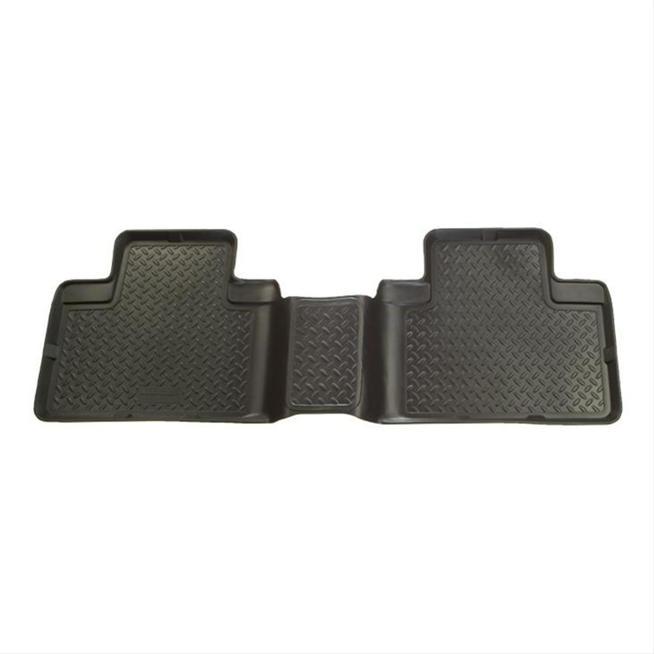04-15 TITAN CREW CAB 2ND SEAT 2PC CLASSIC FLOOR LINERS BLK
