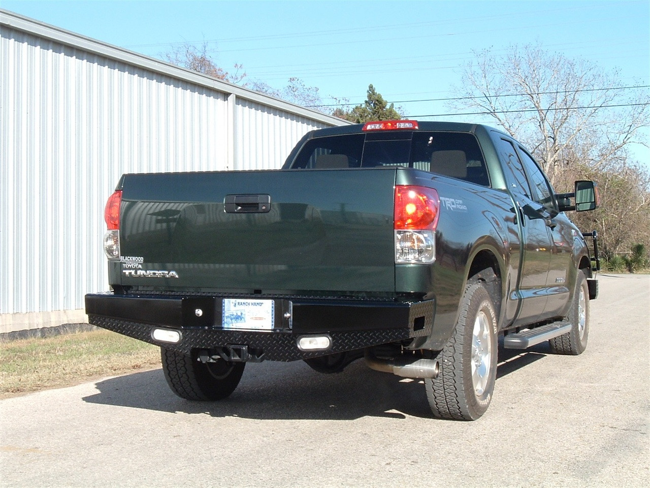 07-13 TUNDRA (EXCL LIMITED) SPORT SERIES REAR BUMPER-MUST HAVE RECEIVE