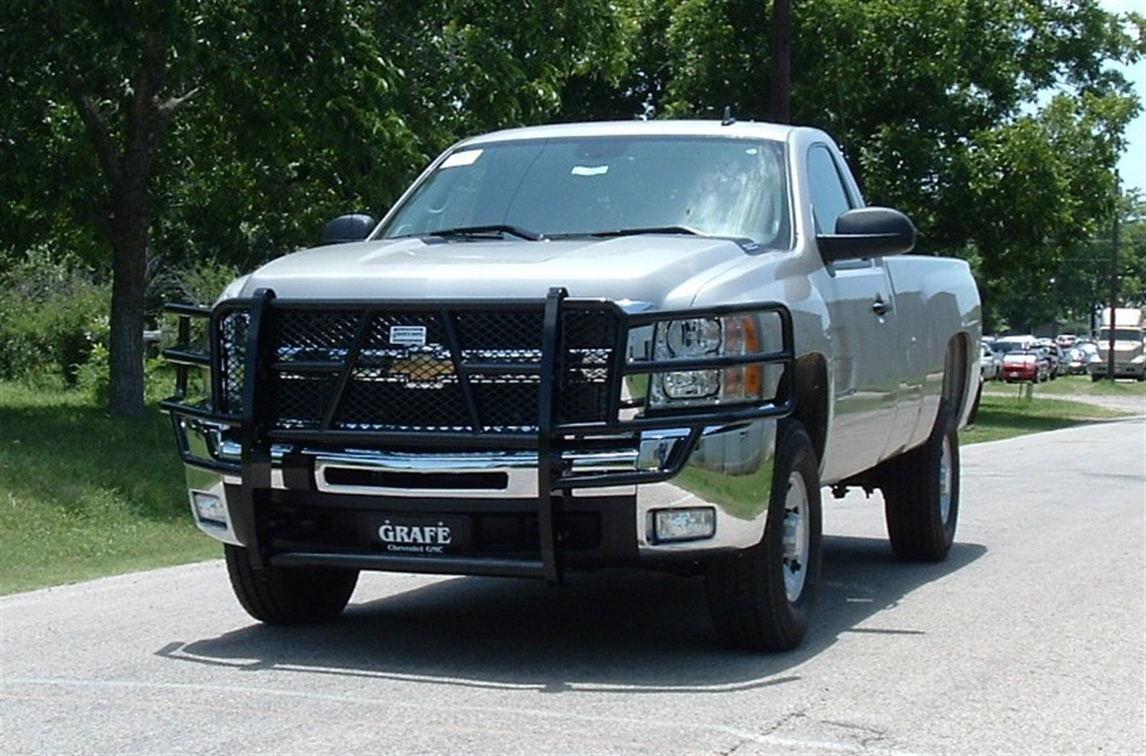 07-10 SILVERADO 2500HD/3500HD LEGEND GRILLE GUARD
