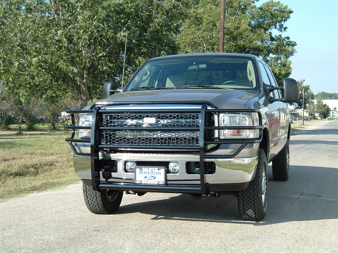05-07 FORD SUPER DUTY/2005 EXCURSION LEGEND GRILLE GUARD
