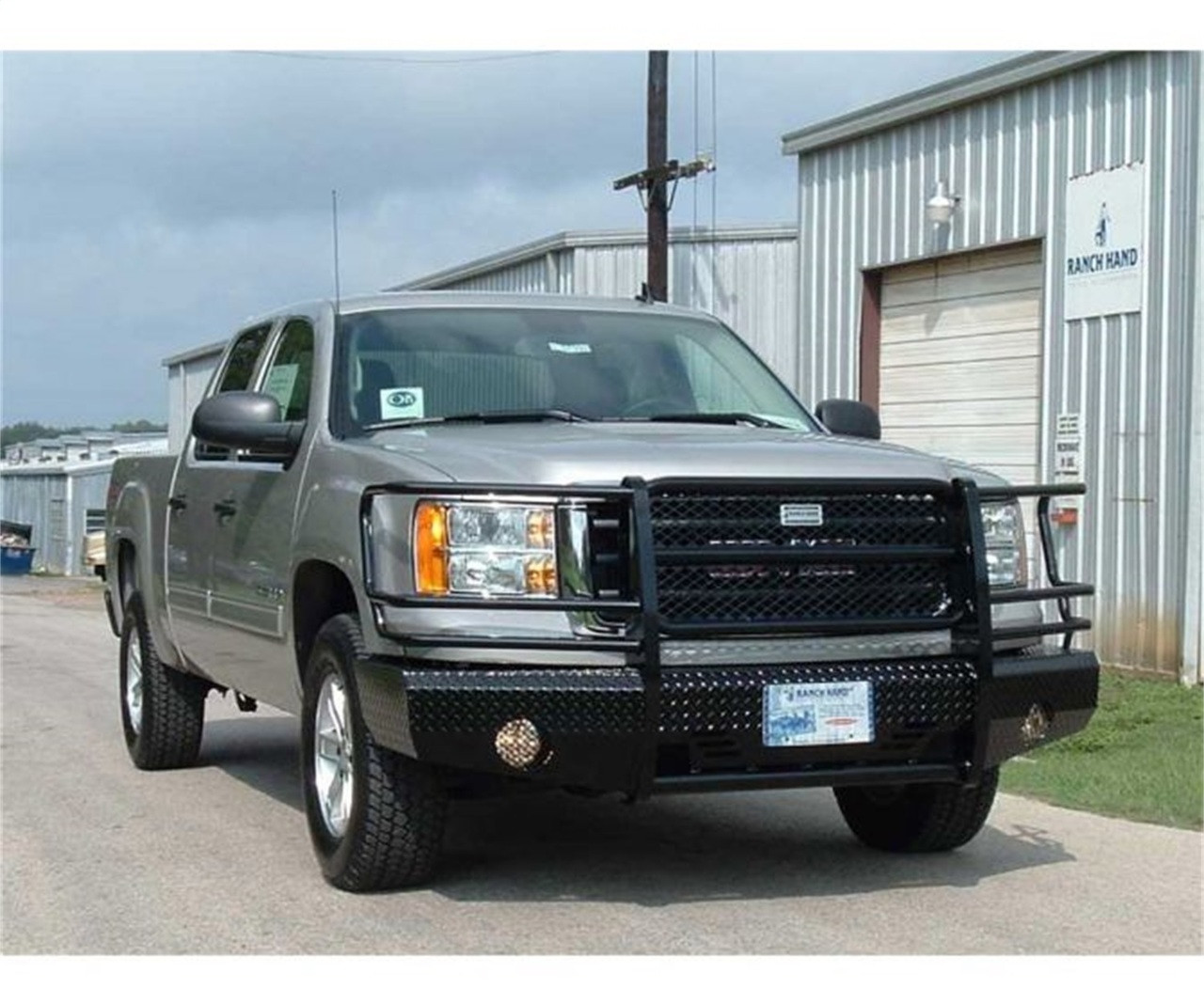 07-13 SIERRA 1500 (EXCLUDING DENALI SUMMIT FRONT BUMPER