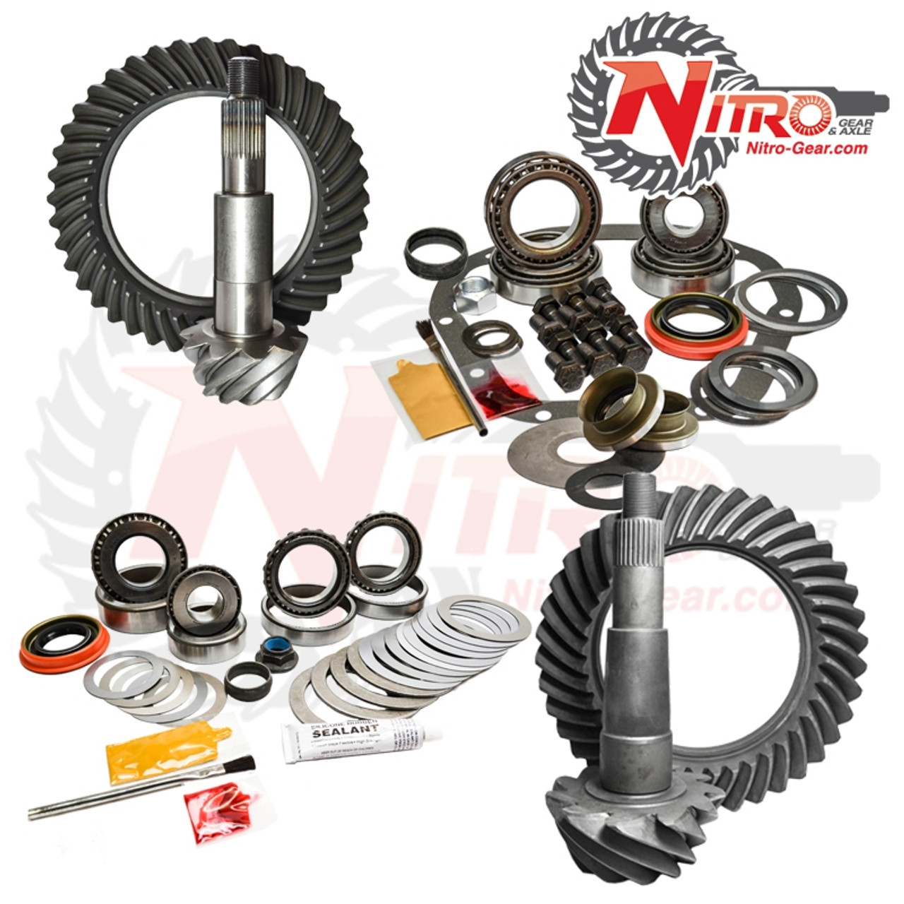 02-10 Ford F250/350 5.38 Ratio Gear Package Kit Nitro Gear and Axle