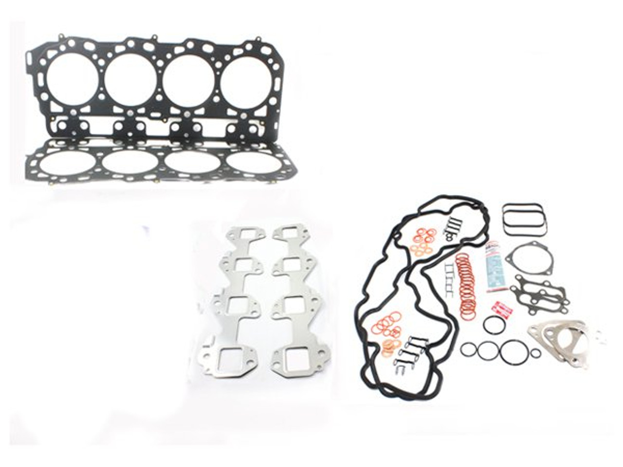 LB7 Head Gasket Kit With Exhaust Manifold Gaskets, No Bolts