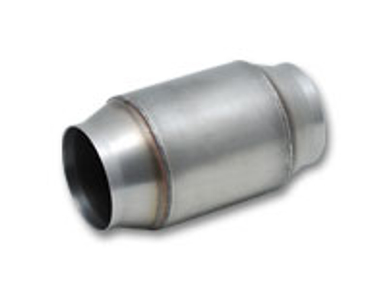 Vibrant GESi High Output Univ OBD2 Catalytic Converters 4in OD x 4in body 3in
