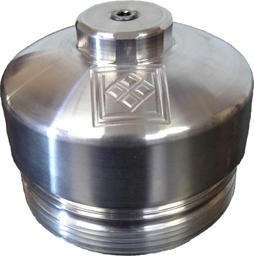 6.0 Powerstroke Oil Filter Cap- Black Diamond 2003-2007