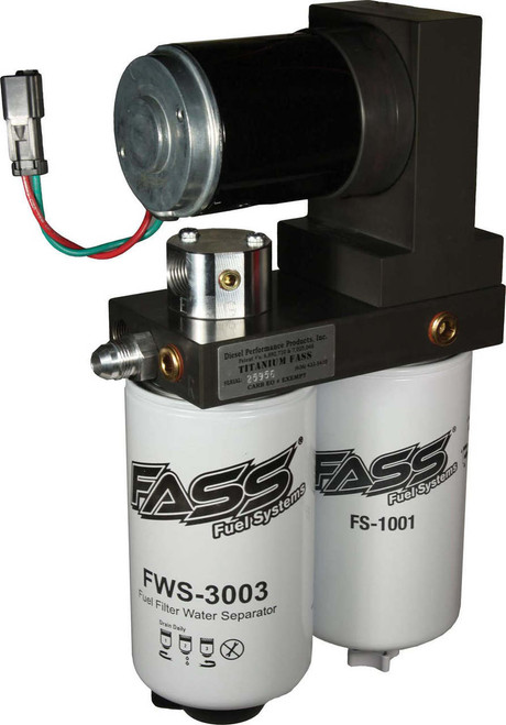 FASS 2011-2012 Ford Powerstroke 6.7L 200 GPH Flow rate @55 psi *** Bypassess Factory lift Pump***