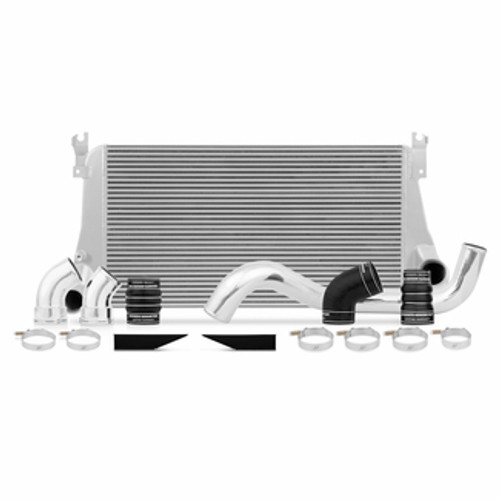 Mishimoto 06-10 Chevy 6.6L Duramax Intercooler Kit w/ Pipes (Silver)