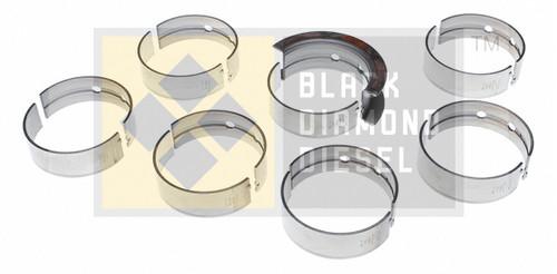 Black Diamond .25MM Oversize Main Bearing Set Fits 98.5-02 Dodge 5.9 Cummins 24V