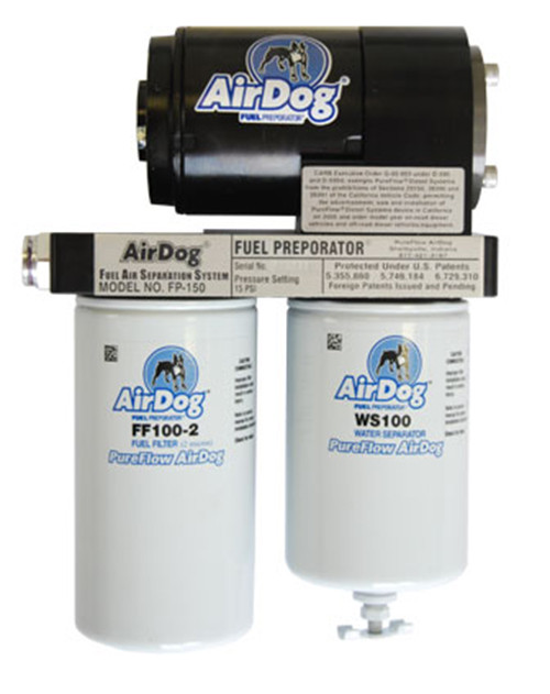 1992-2000 Chevy Diesel AirDog II DF-165 w/Built-In Adj Reg Quick Disconnect