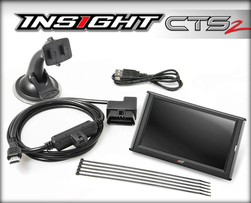 Edge Insight CS 2 Gauge Monitor for Chevy GMC Duramax 6.6 Diesel
