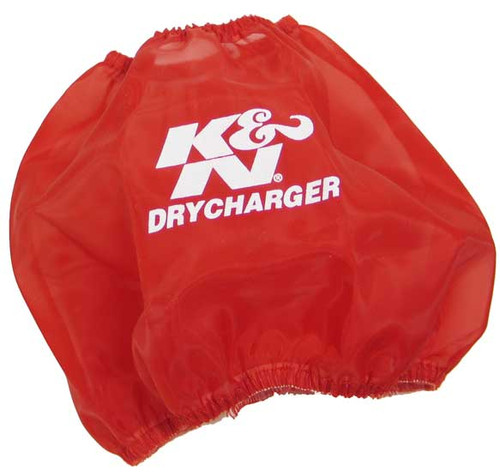 K&N DRYCHARGER WRAP; RF-1048, RED Air Filter Wrap
