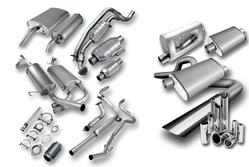 00-04 L-SERIES 2.2L MUFFLER - WELDED ASSEMBLY
