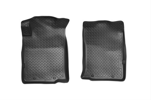 05-15 TACOMA CLASSIC STYLE FRONT FLOOR LINERS (W/TWIST LOCK OR REMOVABLE HOOK) BLACK