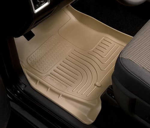 05-15 TACOMA FRONT FLOOR LINERS WEATHERBEATER SERIES BLACK