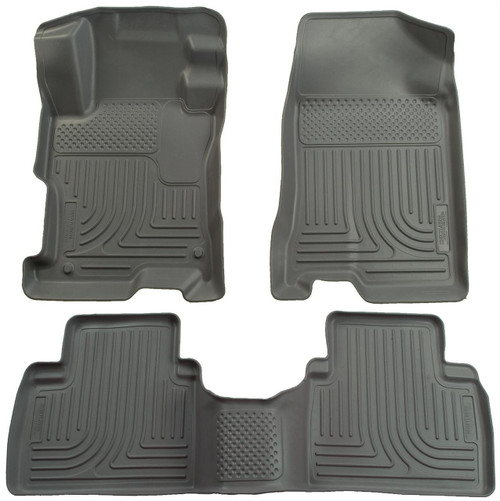 07-12 ALTIMA ALL EXCEPT HYBRID VERSION WEATHERBEATER FRONT & 2ND SEAT FLOOR LINERS GREY
