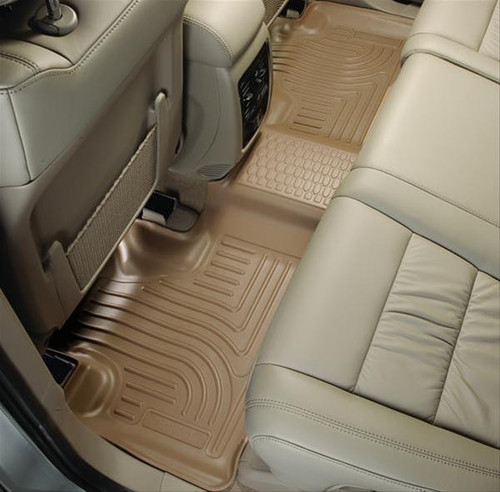 02-08 RAM 1500 QUAD/03-09 RAM 2500/3500 QUAD CAB WEATHERBEATERS FRONT & 2ND SEAT FLOOR LINERS TAN