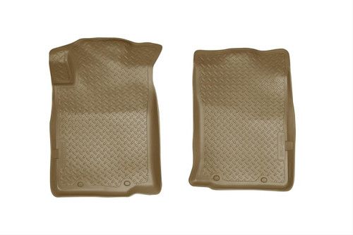 05-15 TACOMA CLASSIC STYLE FRONT FLOOR LINERS (W/TWIST LOCK OR REMOVABLE HOOK) TAN