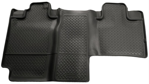 04-08 F150 SUPERCREW W/PLASTIC JACK BOX 2ND SEAT FLOOR LINER BLACK