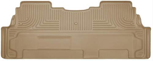 07-16 ACADIA/17-17ACADIA LMT/08-17 ENCLAVE/09-17 TRAVERSE 2ND ROW BENCH FLOOR LINER WEATHERBEATER TAN