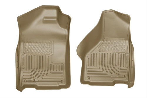 02-15 RAM 1500/03-15 RAM 2500/3500 QUAD/STD CAB WEATHERBEATER FRONT FLOOR LINERS TAN