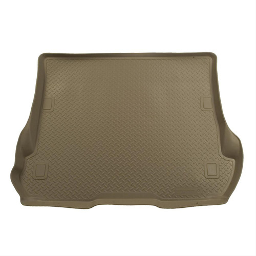 00-05 EXCURSION REAR 5 FT CARGO LINER TAN - CAN MOUNT 3RD SEAT ON TOP OF LINER VIA CUTTING