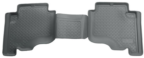 05-10 JEEP GRAND CHEROKEE, 2006 JEEP COMMANDER 2ND SEAT FLOOR LINERS GREY
