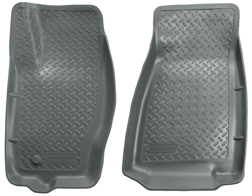 05-10 JEEP GRAND CHEROKEE, 06-10 JEEP COMMANDER FRONT FLOOR LINER GREY