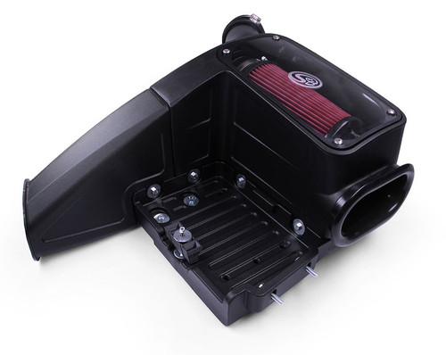 S&B 99-03 Ford 7.3L Powerstroke Cold Air Intake Kit-Cotton Filter