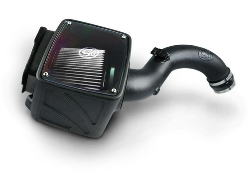 S&B Cold Air Intake for 2001-2004 Chevy / GMC Duramax LB7 6.6L (Dry Extendable Filter)