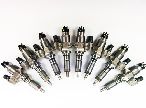Dynomite Duramax 01-04 LB7 BRAND NEW Injector SET - CUSTOM Super Mental Series