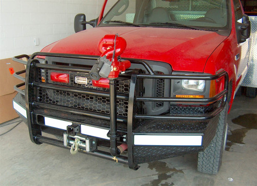 05-07 FORD SUPER DUTY/05 EXCURSION SPORT WINCH READY FRONT BUMPER