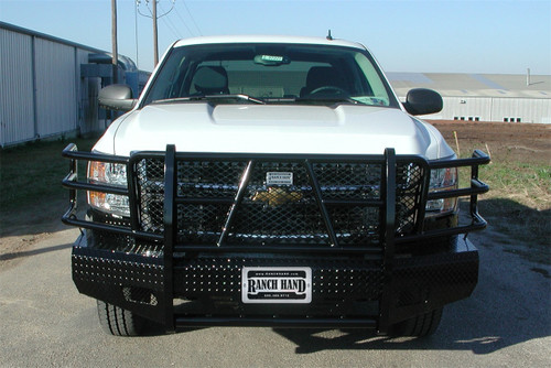 07-10 SILVERADO 2500HD/3500HD SUMMIT SERIES FRONT BUMPER