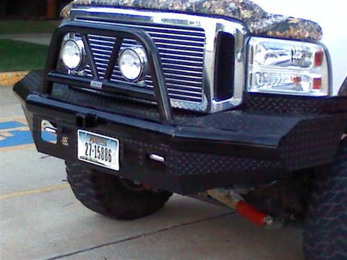 05-07 FORD SUPER DUTY/2005 EXCURSION LEGEND BULLNOSE FRONT BUMPER