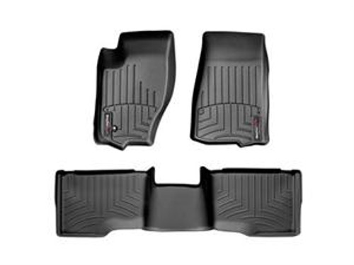 Black Front and Rear Floorliners Jeep Grand Cherokee 2005- 2010