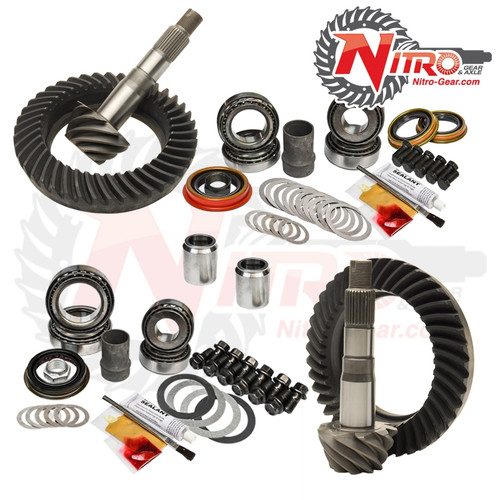 03-09 Toyota 4Runner FJ Hilux Tacoma E-Lock 4.56 Ratio Gear Package Kit Nitro Gear and Axle