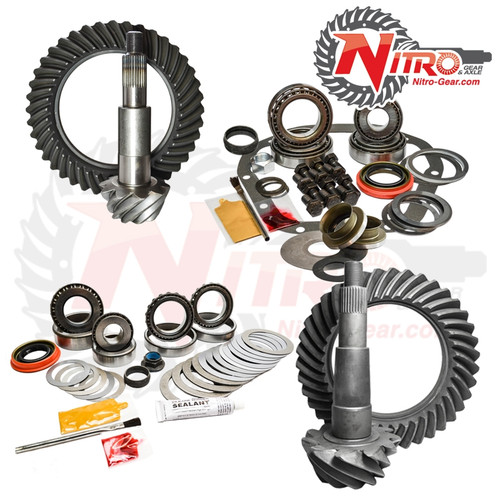 02-10 Ford F250/350 4.56 Ratio Gear Package Kit Nitro Gear and Axle