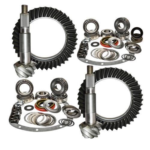 03-06 Jeep Wrangler TJ Rubicon 5.13 Ratio Gear Package Kit Nitro Gear and Axle