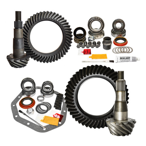 02-11 Dodge Ram 1500 and 03-09 Dakota/Durango 4.56 Ratio Gear Package Kit Nitro Gear and Axle