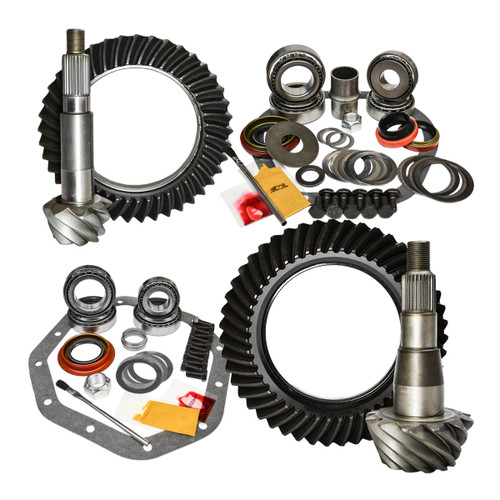 02-11 Dodge Ram 1500 and 03-09 Dakota/Durango 3.92 Ratio Gear Package Kit Nitro Gear and Axle