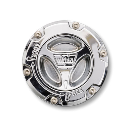 Warn 05-15 Superduty F250/F350 Chrome Locking Hub
