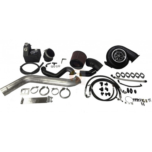 2nd Gen Swap Kit and S463 Turbocharger For 4th Gen Cummins 2013-2016 With Cast Manifold No Coolant Tank Fleece Performance