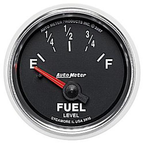 Autometer 2-1/16 In. Fuel Level, 240E 33 F, Sse, Gs
