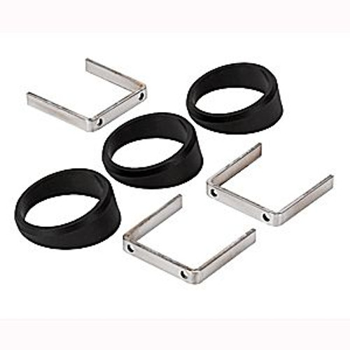 Autometer Accessories- Angle Rings Pack Of 3 2-1/16In.