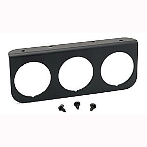 Autometer Accessories 2-1/16In. 3-Hole Gauge Panel