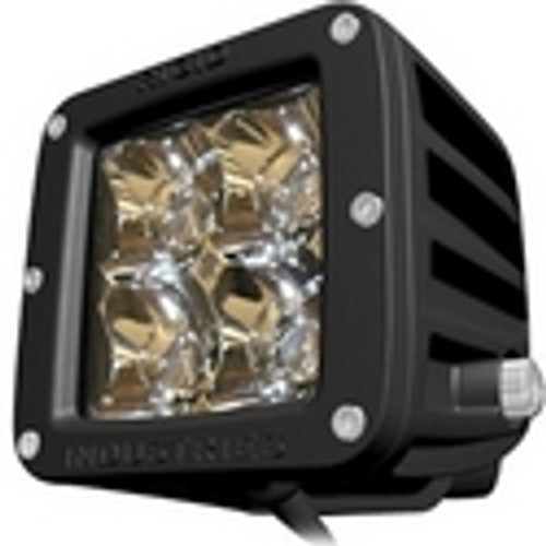 Rigid Lights  2X2 - Dually - LED Light - Amber - Flood - Single