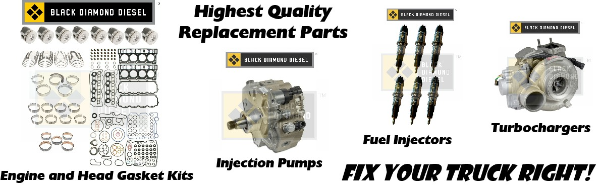 Dodge Cummins, Ford Powerstroke, GM Duramax, Diesel Repair