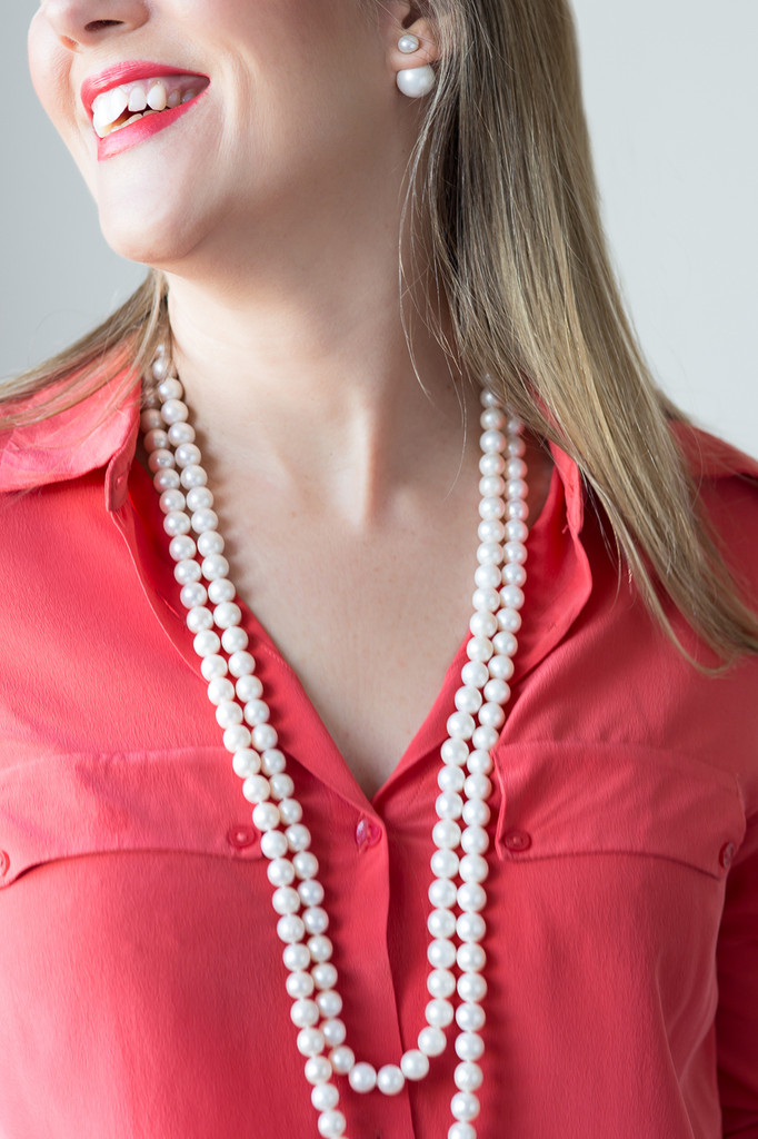 stylerocks-single-strand-long-white-pearl-necklace-worn-doubled