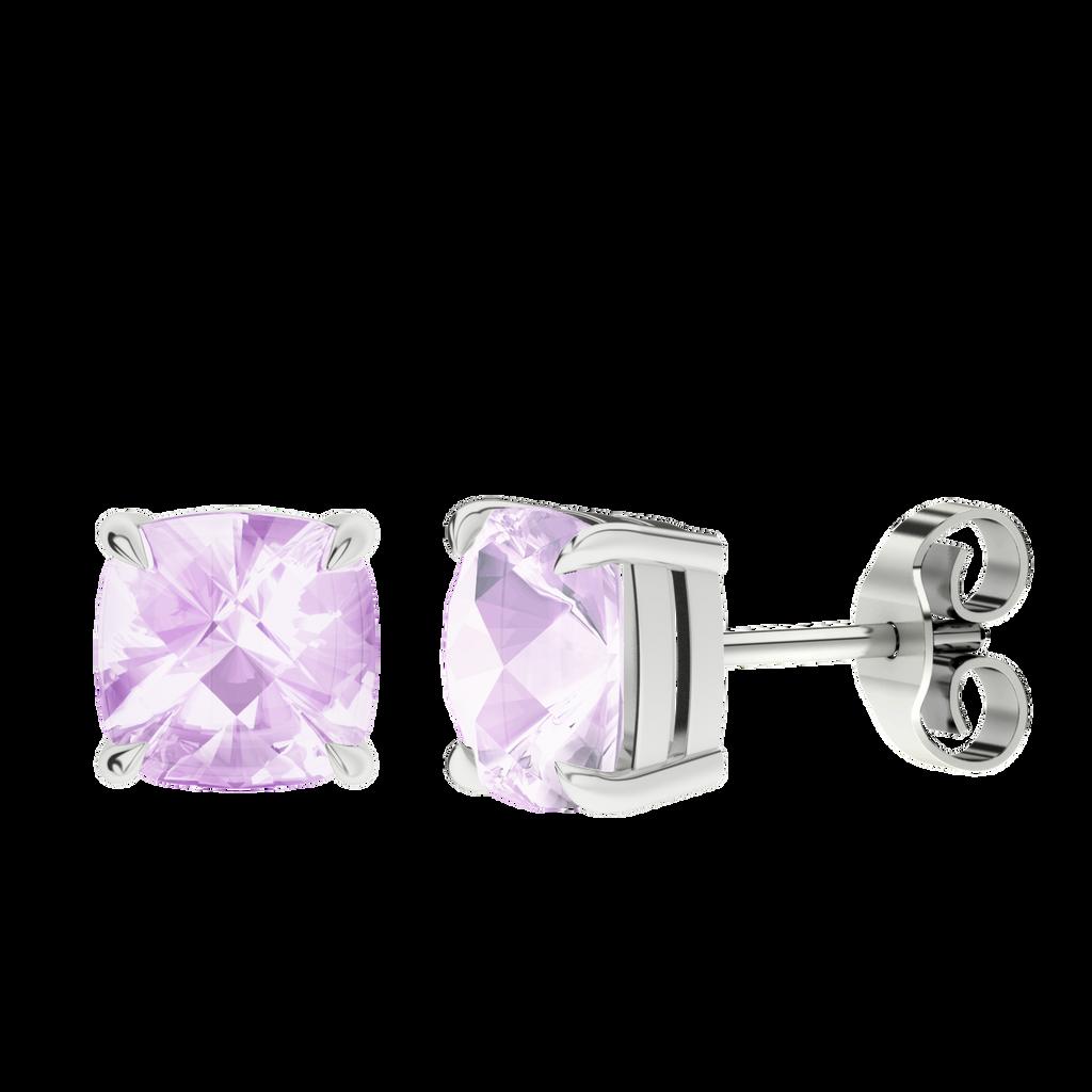 stylerocks-pink-amethyst-silver-checkerboard-stud-earrings