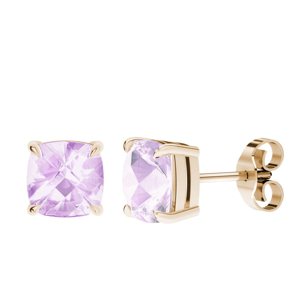stylerocks-pink-amethyst-9ct-rose-gold-checkerboard-stud-earrings