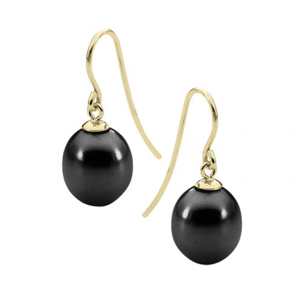stylerocks-black-8mm-pearl-yellow-gold-drop-earrings
